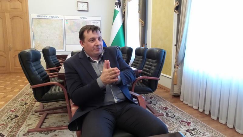 Валерій Куліч: «Очолити Чернігівську ОДА мене переконав Президент»