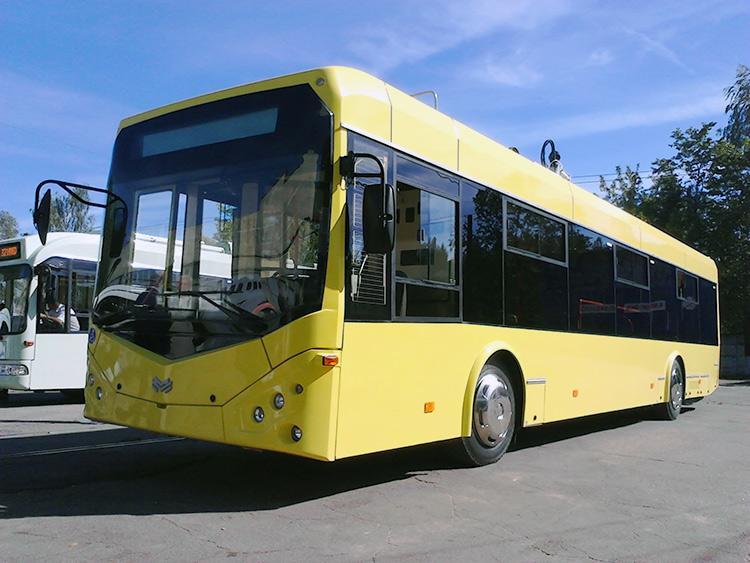 Білоруси планують дослідити новий тролейбус на чернігівцях