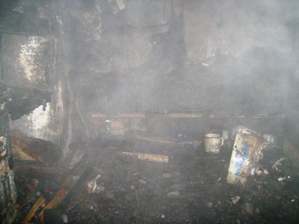 На Чернігівщині в пожежах згоріло двоє людей