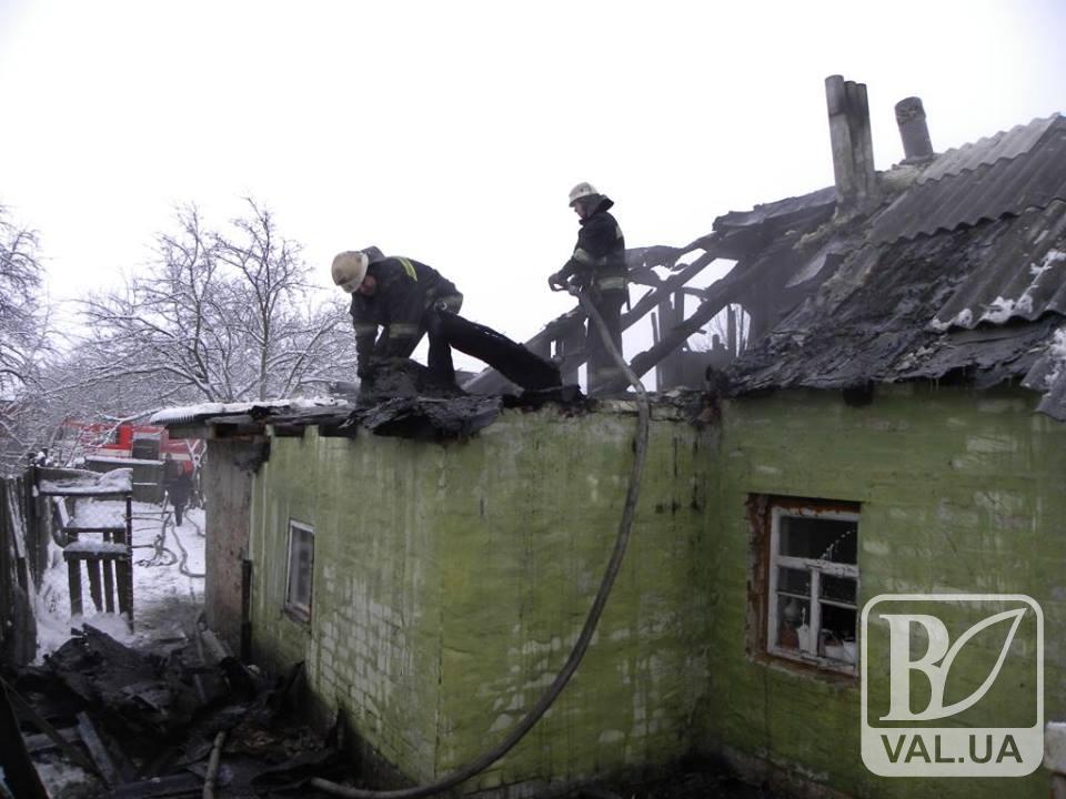 Під час пожежі у власному житлі загинула бабуся