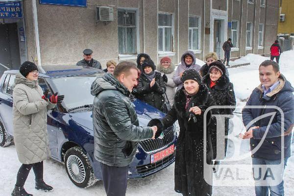 На Чернігівщині райлікарня поповнила автопарк