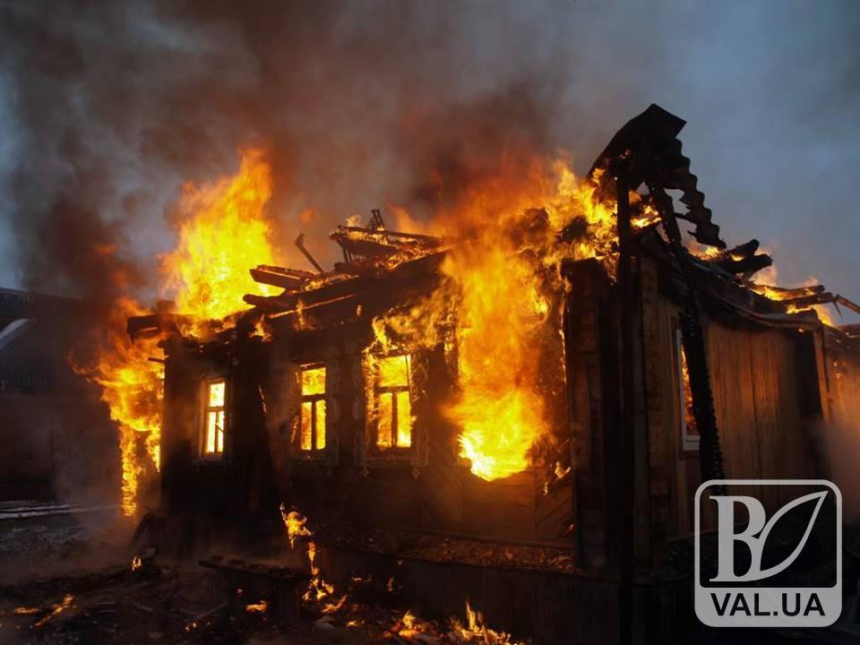 На Чернігівщині заживо згоріли дві людини. ФОТО