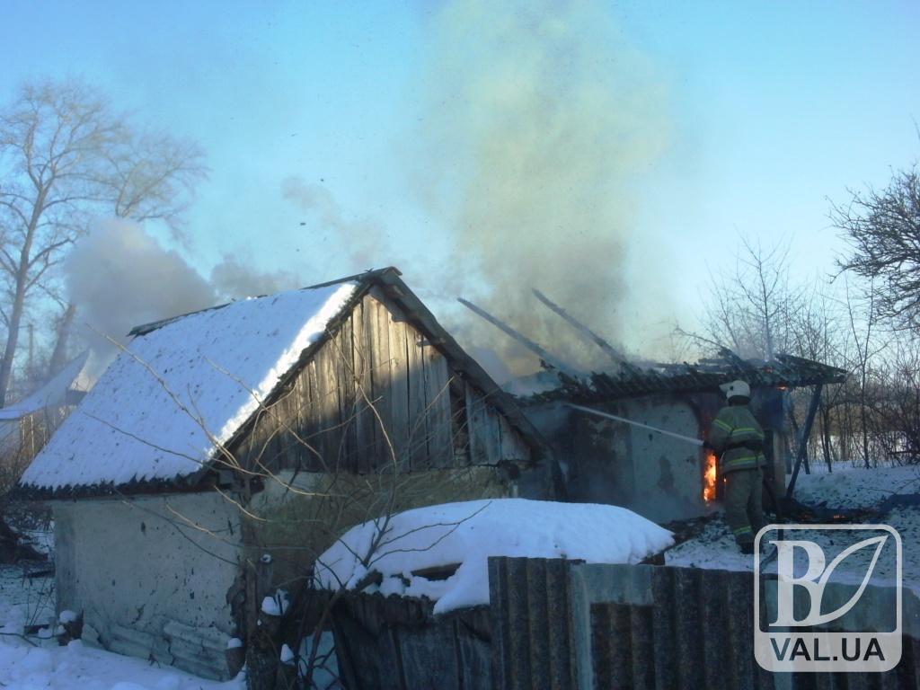 На Чернігівщині 4-річна дівчинка спалила сарай