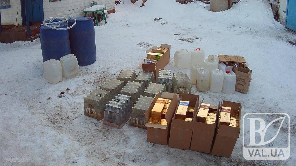 На Чернігівщині вилучили ще 1,5 тонни небезпечного алкофальсифікату
