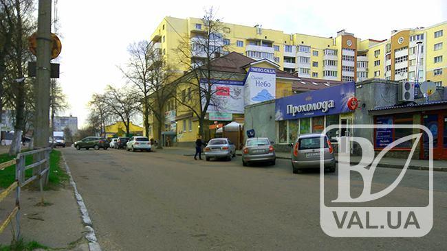 У Чернігові на 4 місяці перекриють рух на одній з центральних вулиць. ФОТО