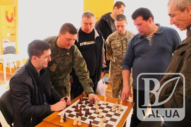 У Чернігові пройшов чемпіонат України з шахів та шашок серед учасників бойових дій