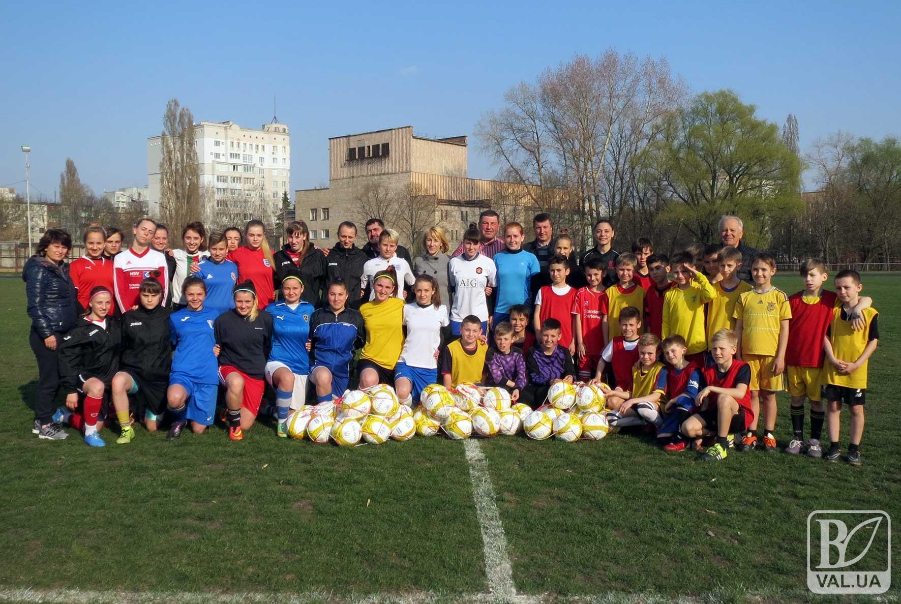 На Чернігівщині реалізовують програму розвитку дитячо-юнацького футболу
