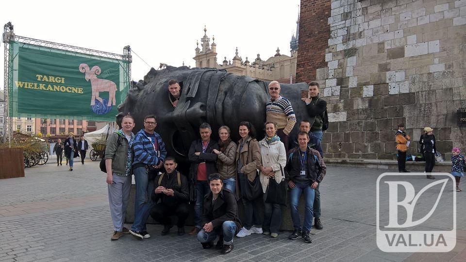 Чернігівські актори демонстрували свої таланти перед польським глядачем