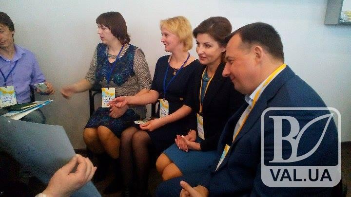 Марина Порошенко снова в Чернигове