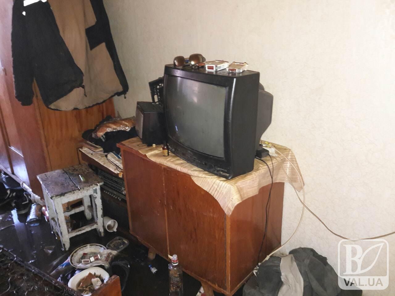 59-річний чернігівець згорів у власній квартирі
