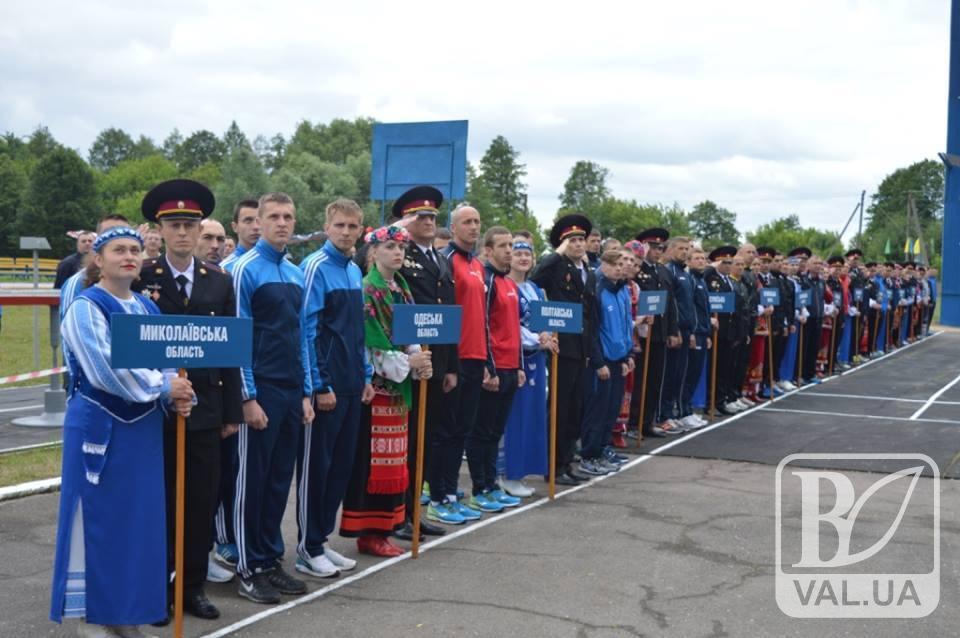 У Чернігові стартував чемпіонат України серед пожежників. ФОТО