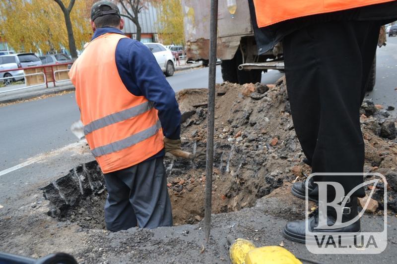 Чернігівців просять повідомляти про земляні роботи на дорогах