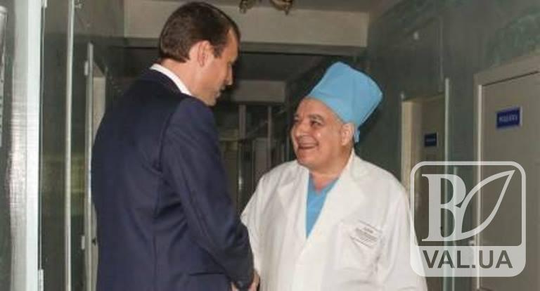 Валерій Дубіль вітає з Днем медичного працівника