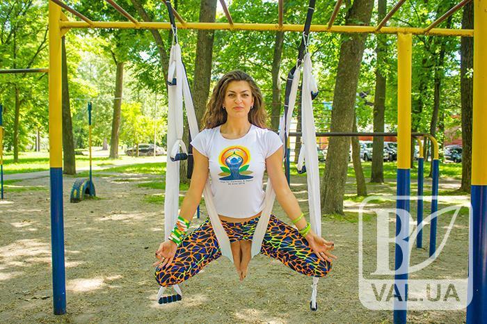 У Чернігові відзначають Міжнародний день йоги. ФОТОрепортаж