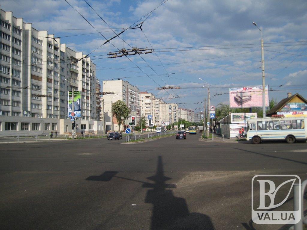 У Чернігові відремонтують вулицю Рокосовського за 55 мільйонів