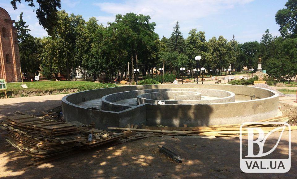 На тендер щодо закупівлі фонтанів у сквері Хмельницького поскаржилися до Антимонопольного комітету