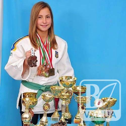 Дзюдоїстка з Чернігівщини стала срібною призеркою європейського фестивалю