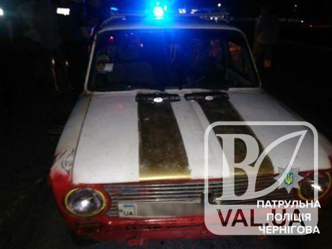 У Чернігові патрульні затримали водія-наркомана зі шприцом у кишені