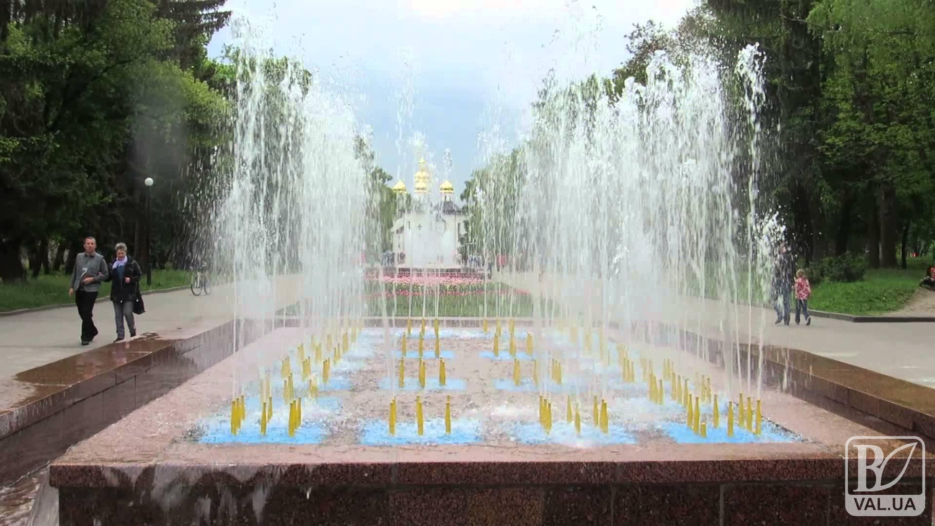 На Алеї Героїв протягом року з'являться три нові світлодинамічні фонтани за 17 млн