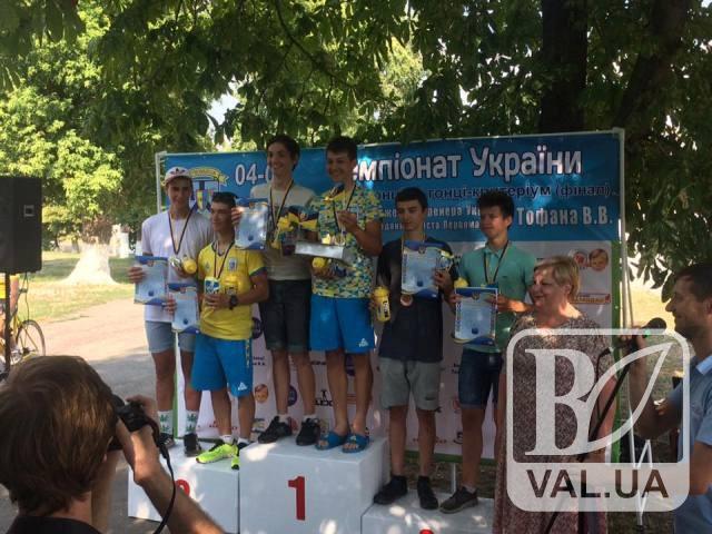 Чернігівські юні велосипедисти «привезли на рамі» золото