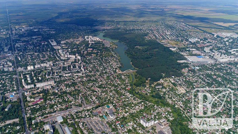 Чернигов, как на ладони: с такого ракурса наш город видел только квадрокоптер. ФОТО