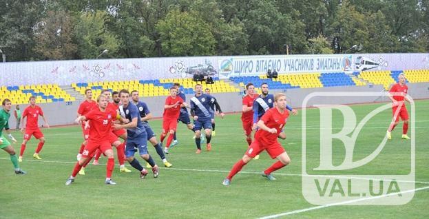 """Чернігівська """"Десна"""" програла лідеру Першої ліги"""