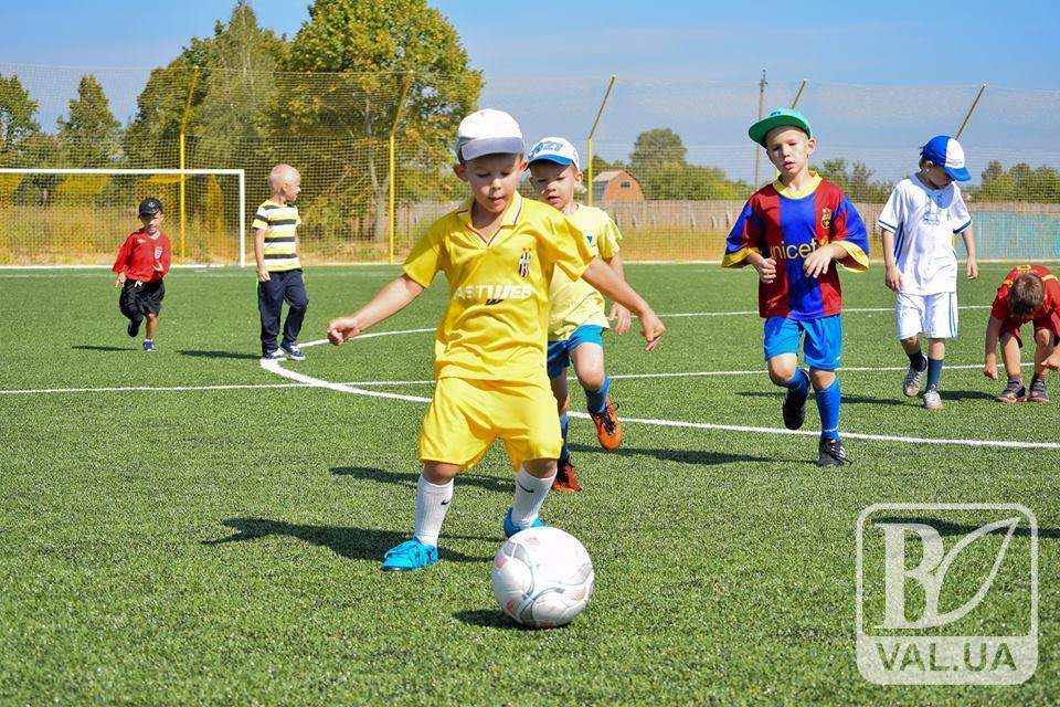 Спортивна школа ФК «Чернігів» відкрила двері для юних футболістів