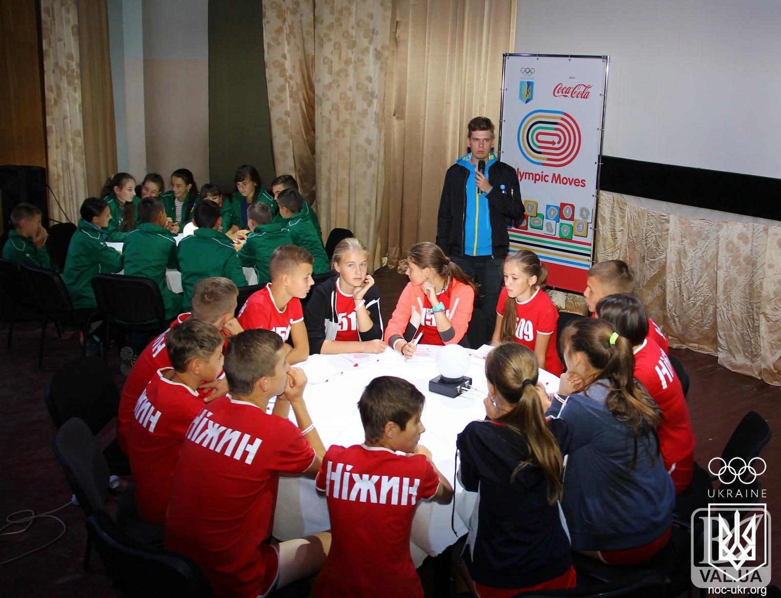 Найкращі знавці олімпійського руху проживають на Чернігівщині
