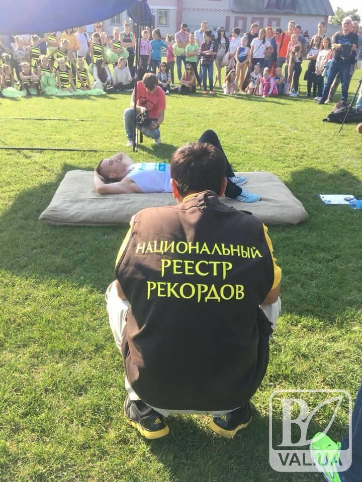 Ніжинець встановив Всеукраїнський рекорд з качання пресу