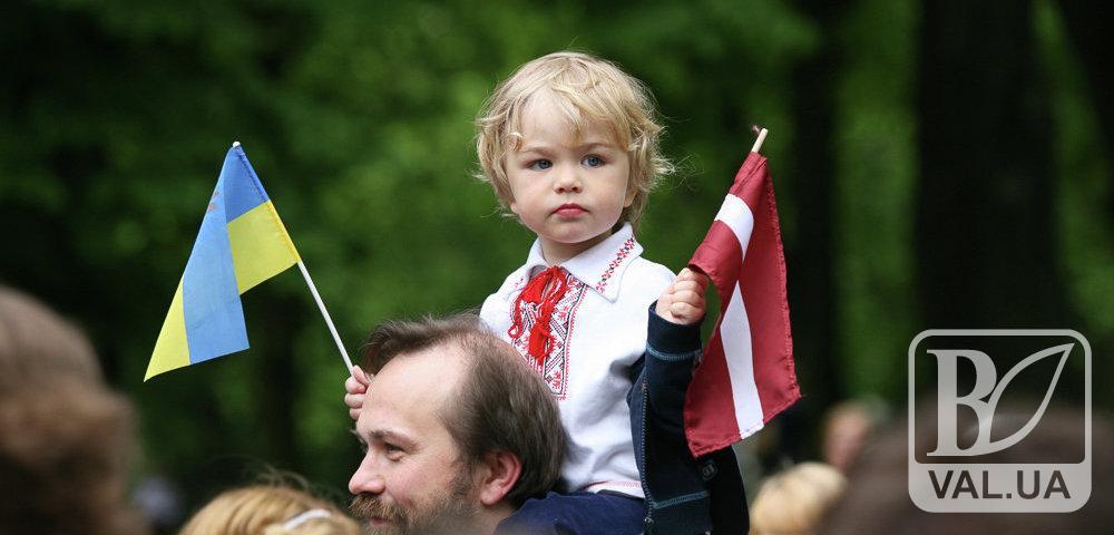 У Чернігові стартував Фестиваль Латвійської культури