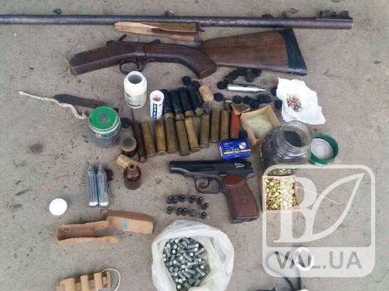 Черниговцы все больше запасаются оружием
