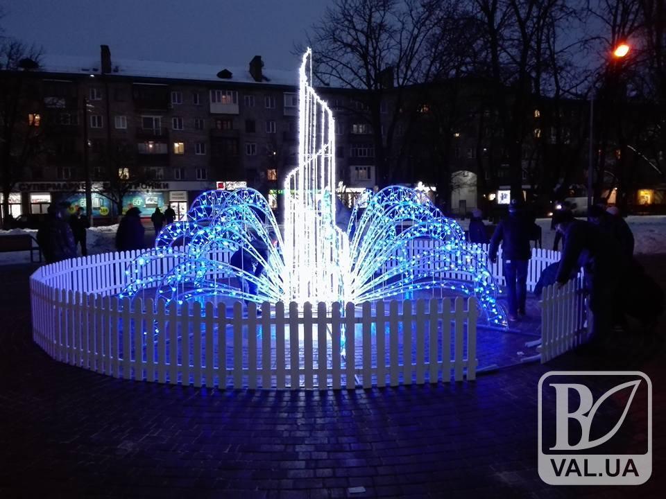 У Чернігові в сквері Хмельницького з'являться 2 «зимові» фонтани