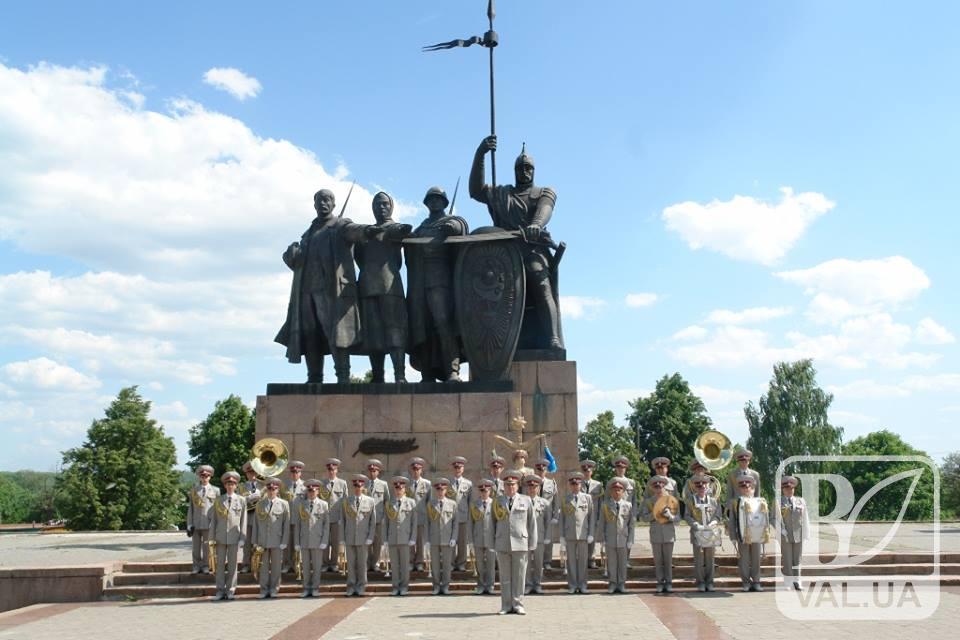 Чернігівські військові музики поїдуть гастролювати до Китаю