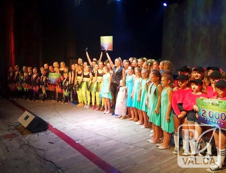 Визначено переможців фестивалю-конкурсу «Чернігів the best - 2017»