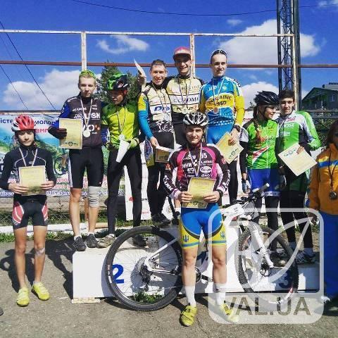 Чернігівський велогонщик став чемпіоном України
