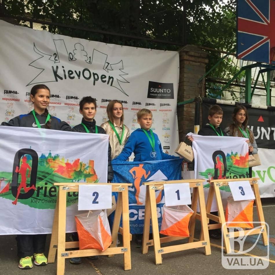 Чернігівські школярі орієнтуються в столиці «із закритими очима»