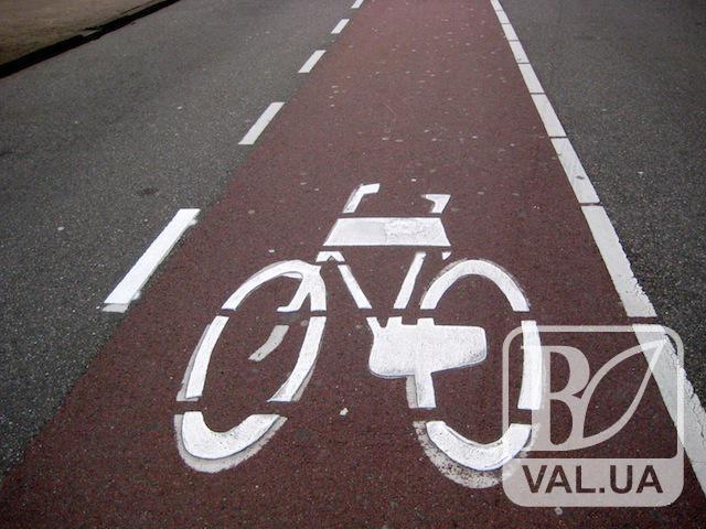 Чернігів поступово стає велосипедним. ВІДЕО