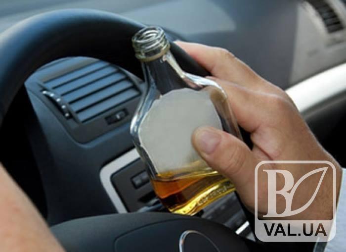 На Чернігівщини майже 2 тисячі водіїв не пошкодували 10 тисяч гривень за п'яне кермування