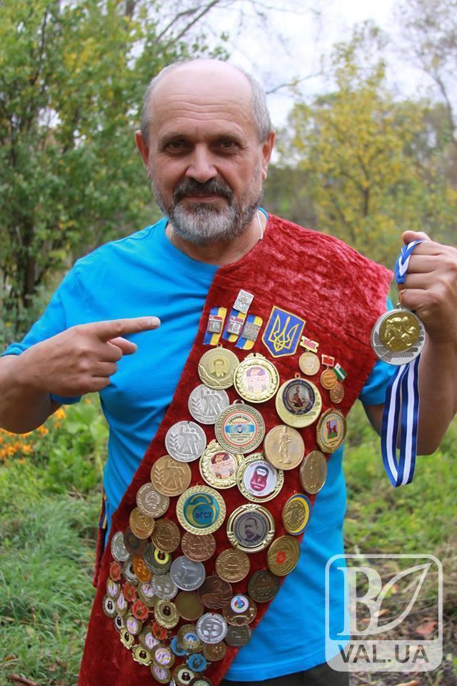 Ветеран з Чернігівщини став чемпіоном світу