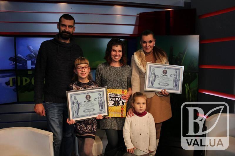8-річна ніжинка встановила Національний рекорд України