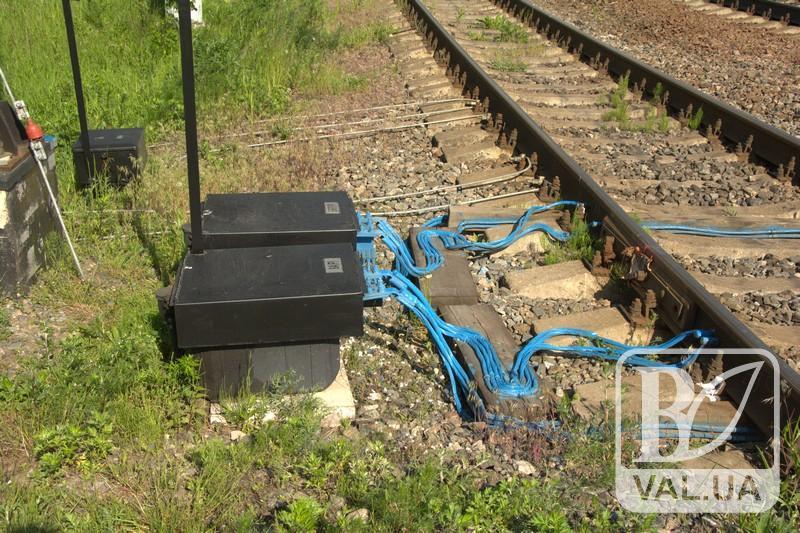 У Чернігові на залізниці невідомі викрали трансформатори