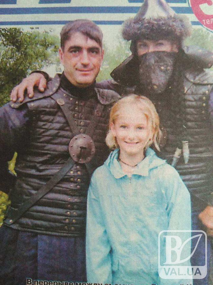 Каскадер з Чернігівщини знявся у фільмі «Сторожова застава»