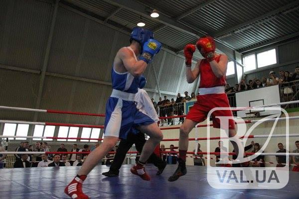 Чернігівські боксери зайняли призові місця на чемпіонаті України