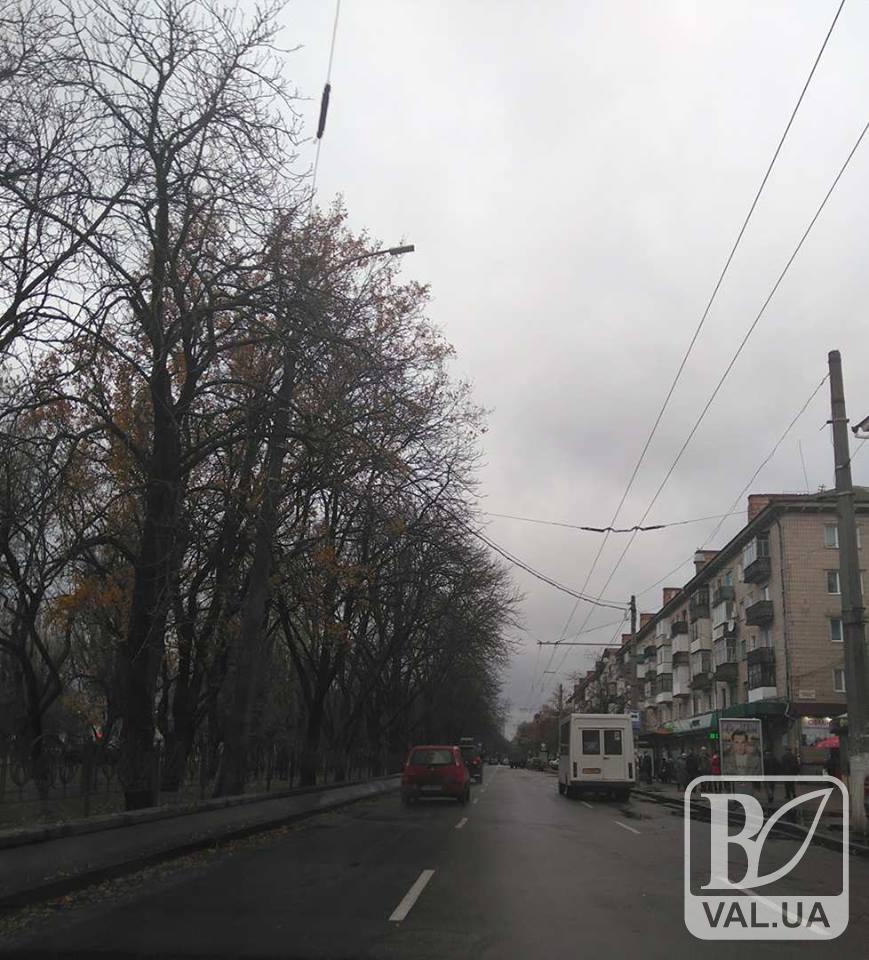 Рух по проспекту Миру у Чернігові відкрито