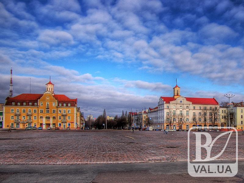 Наступного року на Красній площі Чернігова можуть поміняти бруківку