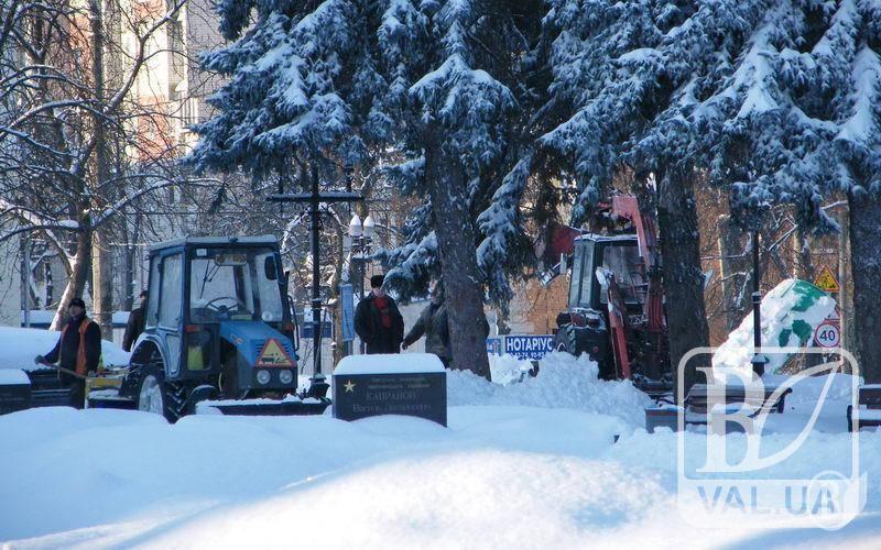 Черниговский «политех» оптимизирует уборку улиц Чернигова за 200 тысяч гривен