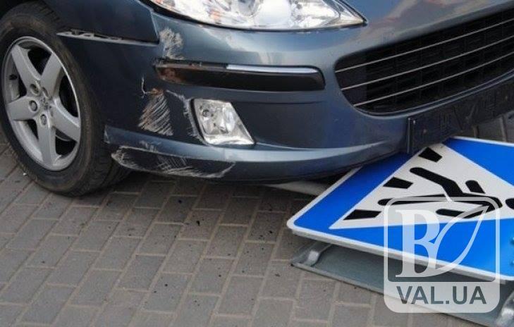 У Чернігові «Opel» збив п'яного пішохода