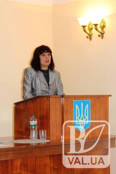 На Чернігівщині голова райради достроково склала свої повноваження