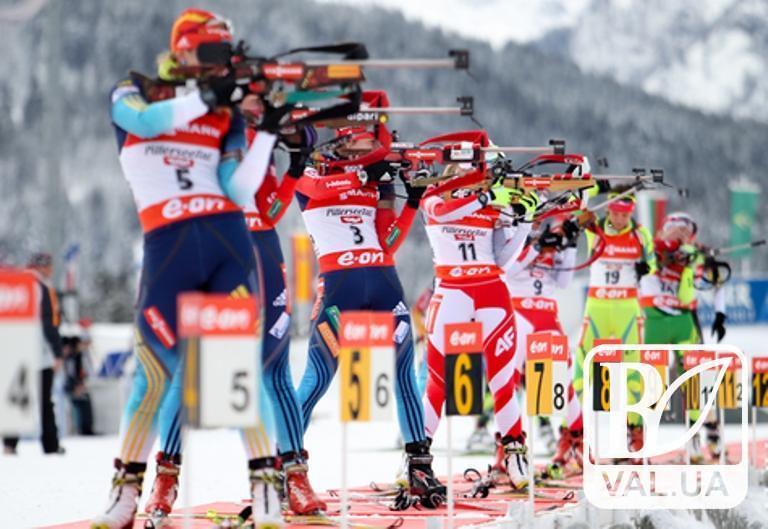 Чернігівські біатлоністи фінішували в третій десятці на Кубку світу