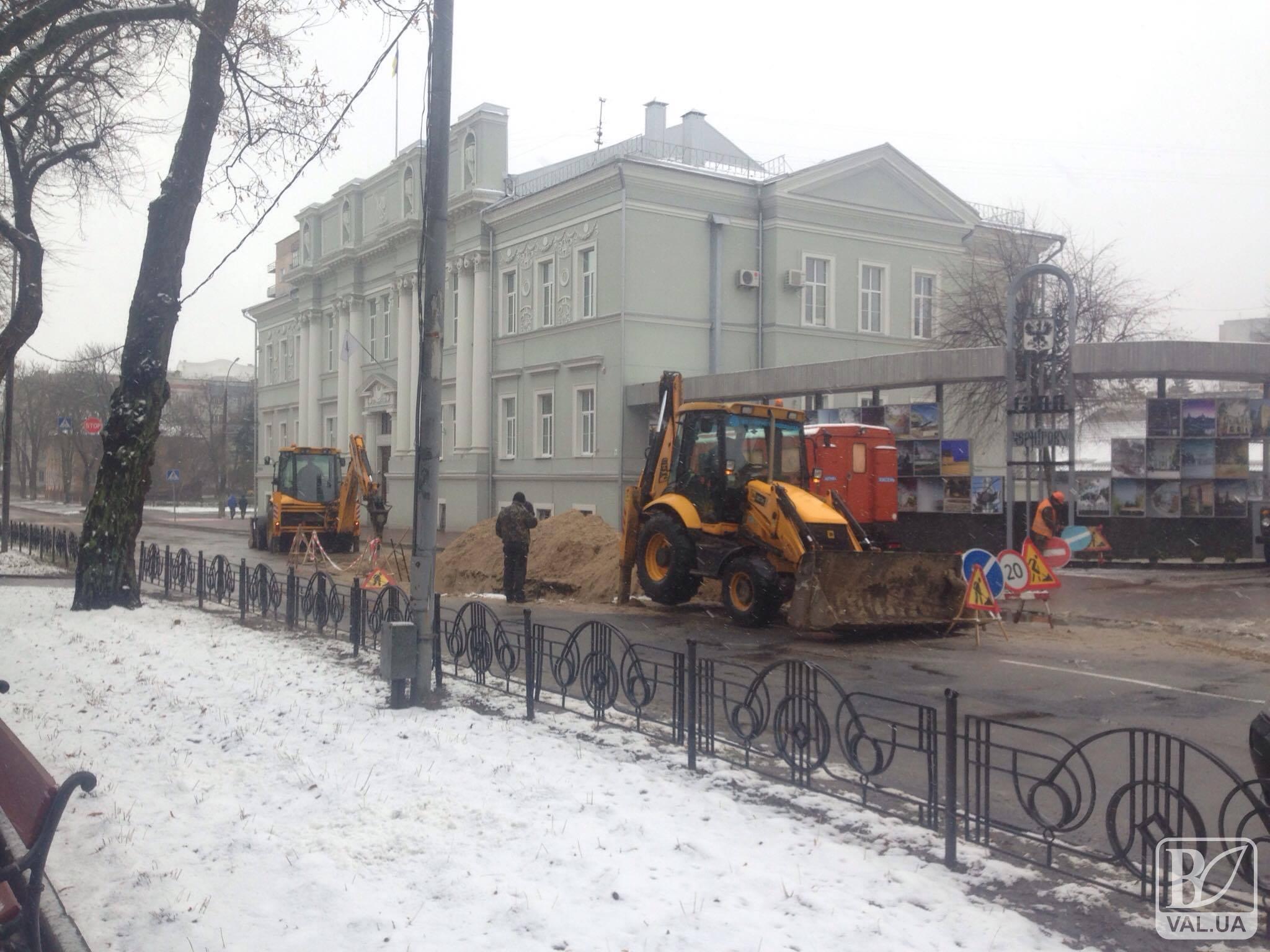 Чернігівська міськрада третій день відключена від водопостачання